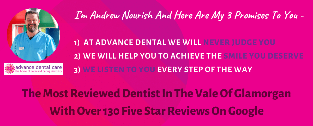"Request A Free  ""Calm & Caring"" Smile Audit At Advance Dental"