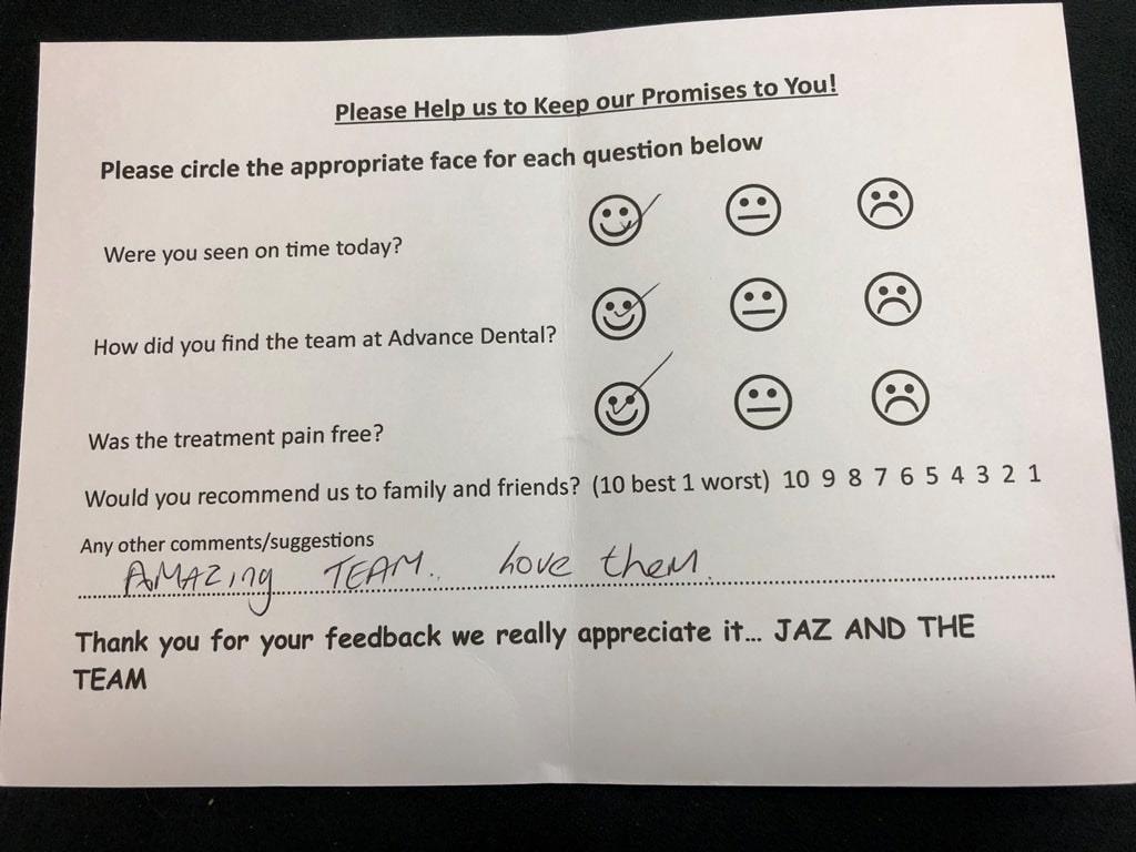Success Stories at Advance Dental Care