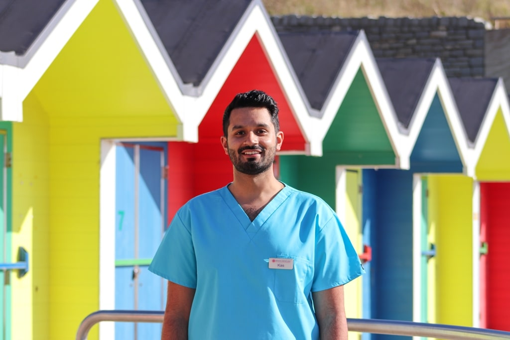 Meet Dr 'Calm & Caring' Kasim